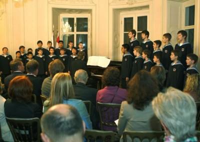 Sommerkonzert der Freunde d. WSK mit dem Mozartchor unter KM Florian Schwarz.