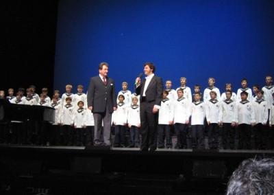 Charity im Theater an der Wien Gerald Wirth und Martin Suppan