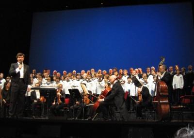 Gerald Wirth mit 3 Choeren und  Chorus Viennensis